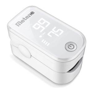 Metene Portable Oximeter - Best Pulse Oximeter for Home Use: Lightweight and Portable