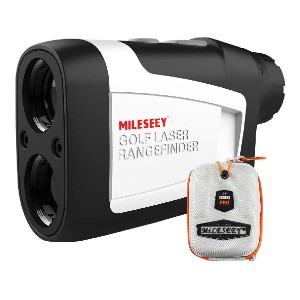 MiLESEEY Golf Rangefinder - Best Rangefinder with Slope: Legal for Tournament Play with Slope Switch Technology