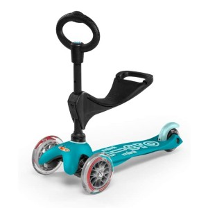 Micro Kickboard Mini 3in1 Deluxe 3-Stage Ride-on Micro Scooter - Best 3 Wheel Scooter: All parts can be upgraded
