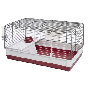 MidWest Homes for Pets Wabbitat Deluxe Rabbit Home Kit  - Best Cage for Guinea Pigs: Easy to clean