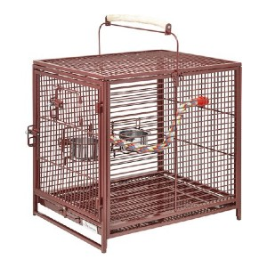 Midwest Poquito Avian Hotel Travel Carrier Bird Cage - Best Bird Cages for Parakeets: Gorgeous finish