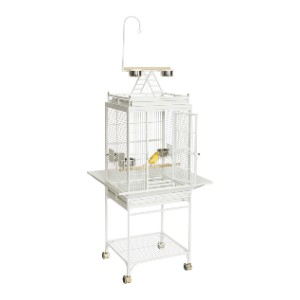 MidWest Homes for Pets Nina Bird Cage  - Best Bird Cage for Cockatiel: Like a fancy hotel