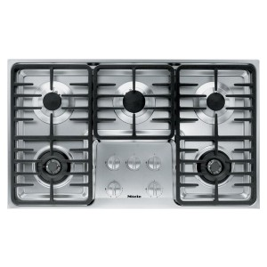 Miele KM3475G Gas Cooktop Stainless Steel - Best 5 Burner Gas Cooktops: Best high-end pick