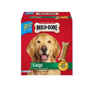 Milk-Bone Original Large Biscuit Dog Treats - Best Biscuits for Dogs: Delicious Bone-Shaped Biscuits