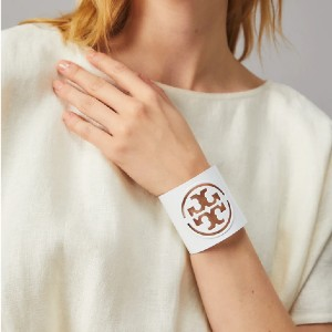 Tory Burch Miller Small Cuff - Best Jewelry for One Shoulder Dress: Simple but classy