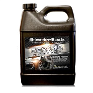Milwaukee Muscle Professional Ceramic Car Wash Soap  - Best Car Wash Soap: Car wash shampoo with ceramic protection