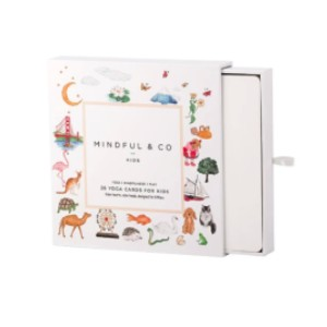 Mindful & Co Kids Yoga Flash Cards - Best Gift for Young Mom: Practice yoga and mindfulness