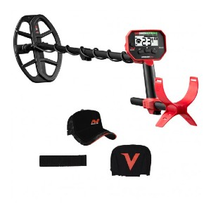 Minelab Vanquish 340 Metal Detector - Best Cheap Metal Detector for Gold: LED Illumination Feature