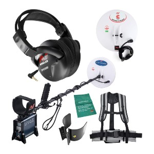Minelab GPX 4500 Metal Detector - Best Metal Detector for Gold Jewelry: Ground Balancing Pulse Induction