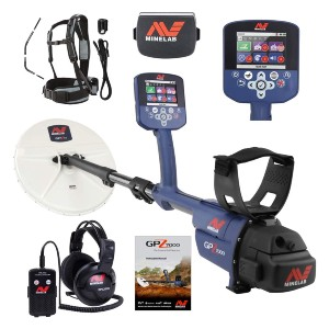 Minelab GPZ 7000 Gold Nugget Metal Detector - Best Metal Detector for Gold Jewelry: Three Soil-Type Adjustment