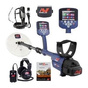 Minelab GPZ 7000 Gold Nugget Metal Detector - Best Metal Detector for Relic Hunting: Zero Voltage Transmission
