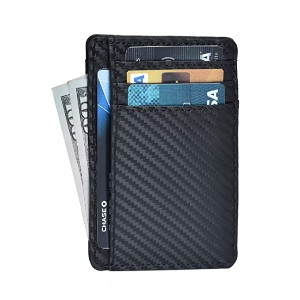 Clifton Heritage Minimalist Wallets for Men - Best Card Holders Women: Durable with Leather Material