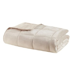 Sleep Philosophy Mink To Microfiber Casual  - Best Weighted Blanket for Anxiety: Helps to Promote a Deep and Restful Sleep