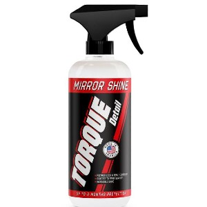 Torque Detail Mirror Shine - Best Liquid Wax for Cars: Just Spray On and Buff With a Microfiber Towel