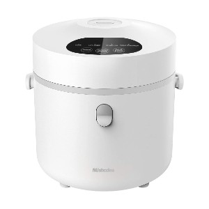 Mishcdea Small Rice Cooker - Best Cookers for Rice: Portable Rice Cooker with Detachable Inner Lid