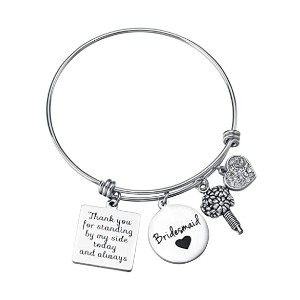 Miss Pink Wedding Gift for Bridesmaid  - Best Jewelry for Bridesmaids: Express your gratitude