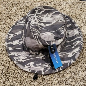 Mission UPF 50 COOLING BUCKET HAT SILVER CAMO - Best Bucket Hats for Golf: Canvas Bucket Hat