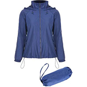 Mixfeer Running Windbreaker Jacket - Best Rain Jackets for Running: Packable and Suitable for All Seasons
