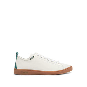 PAUL SMITH Miyata logo-tab nubuck trainers - Best Sneakers Under 150: Green Pull Tab and Back Panel