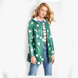ModCloth Showers Raincoat - Best Raincoats for College Students: Raincoat Outfit with Style