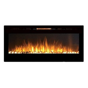Moda Flame MFE5048WS  - Best Electric Fireplace Wall Mount: Lovely pebble design