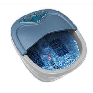 WAHL 4205 - Best Foot Spa with Heat and Jets: Generous space for your feet