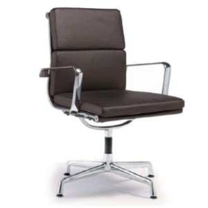 Modern Selections Director Soft Pad Office Chair With No Wheels - Best Office Chair Without Wheels: Swivels Office Chair without Wheels