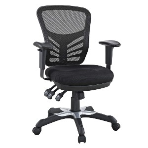 Modway Store Modway EEI-757-BLK Articulate Ergonomic Mesh Office Chair - Best Office Chair for Sciatica: Great Features