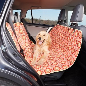 Molly Mutt Papillon Multi-Use Cargo, Hammock & Car Seat Cover - Best Dog Car Back Seat Covers: Cheerful Color Seat Cover