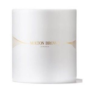 Molton Brown Milk Musk Single Wick Candle 180g - Best Scented Candles: Gold-laced ceramic vessel