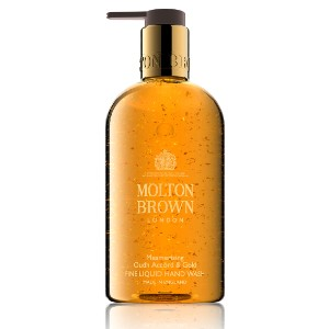 Molton Brown Oudh Accord & Gold Fine Liquid Hand Wash - Best Liquid Hand Soap: Hand wash with 24-carat gold flakes infused