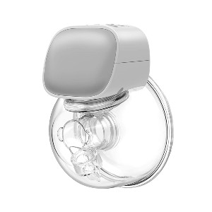 Momcozy Wearable Breast Pump - Best Breast Pump for Induced Lactation: Flange has Soft Edges