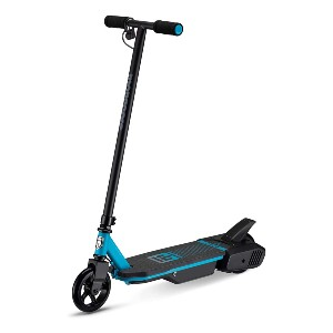 Mongoose React Electric Kids Scooter - Best Electric Scooter for 5 Year Old: Stopping is safe and simple