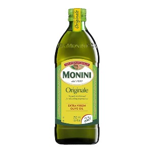 Monini  Premium Extra Virgin Olive Oil - Best Olive Oil for Frying: High-Quality Ingredients