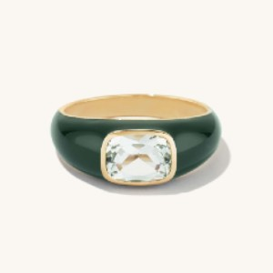Mejuri Monochrome Dôme Ring - Best Jewelry for 30th Birthday:  Solve your styling dilemmas