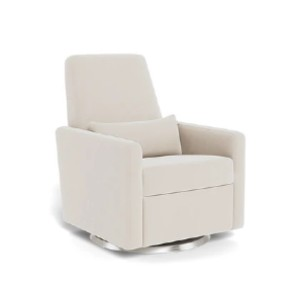 Monte Grano Glider Recliner with Swivel base - Best Glider Chair for Living Room: Simple Glider