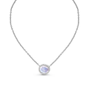 Moon Magic Moonstone Necklace - Spirit Keeper - Best Jewelry for Plus Size: Make your neck looks longer