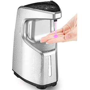 Moontree 15.2 oz /450ml - Best Hand Sanitizer Dispenser: No messy Drips and No Jams