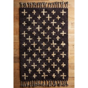 Anthropologie Moroccan Cross Rug - Best Rugs for Dining Rooms: Suitable for Low-Traffic Areas