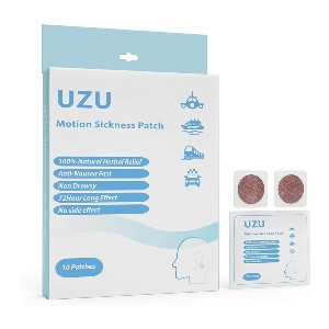 UZUliving Motion Sickness Nausea - Best Patches for Motion Sickness: painless and hassle-free.