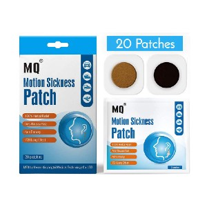 SnHealth Motion Sickness Patch - Best Patches for Motion Sickness: 100% Natural Herbal Treatment