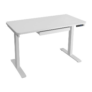 Motionwise Electric Standing Desk - Best Standing Desk for Small Spaces: Stationery Drawer Feature