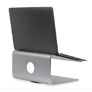 Mount-It! MI-7274 - Best Laptop Stand for Desk: The Top of The Platform is Covered with Anti-Slip Silicone Padding