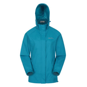 Mountain Warehouse Pakka Womens Waterproof Packable Jacket  - Best Raincoats Under £100: Lots of Pockets to Keep Your Favorite Items Safe