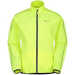 Mountain Warehouse Force Mens Running Jacket  - Best Raincoats for Summer: High visibility with extra ventilation