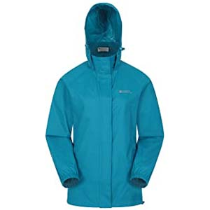Mountain Warehouse Pakka Womens Waterproof Packable Jacket - Best Raincoats for Iceland: This jacket seals out wind