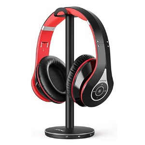 Mpow 059 TV Bluetooth Headphones - Best Wireless Headphones for Movies: Stand up elegantly