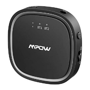 Mpow Bluetooth 5.0 Transmitter Receiver - Best Bluetooth Audio Transmitters: Small, portable design
