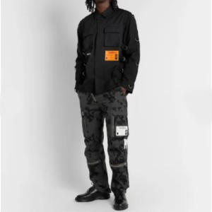 Carhartt WIP Aviation Cotton-Ripstop Cargo Trousers - Best Cargo Pants for Men: Cargo Pants with Belt Loops and Adjustable Waist Tabs