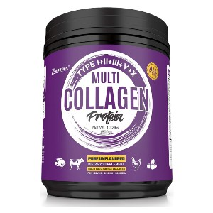 Zammex Multi Collagen Protein Powder - Best Collagen Powder for Joints: Enhanced Joint and Tendon Support